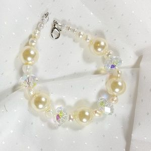 Swarovski and pearls